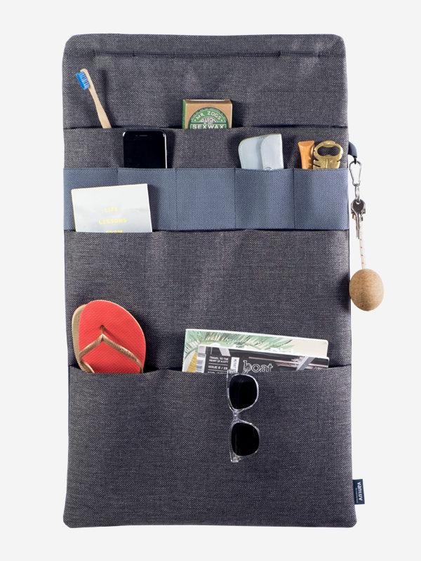 Rücksitztasche für mehr Stauraum im Wohnmobil