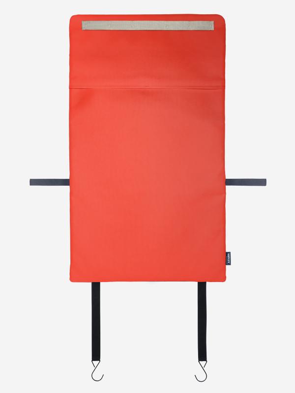 Rücksitzorganizer Rückseite mit Anbringung