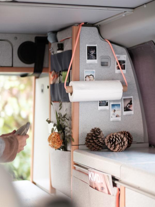 T5 California Küchenrollenhalter Wohnwagen