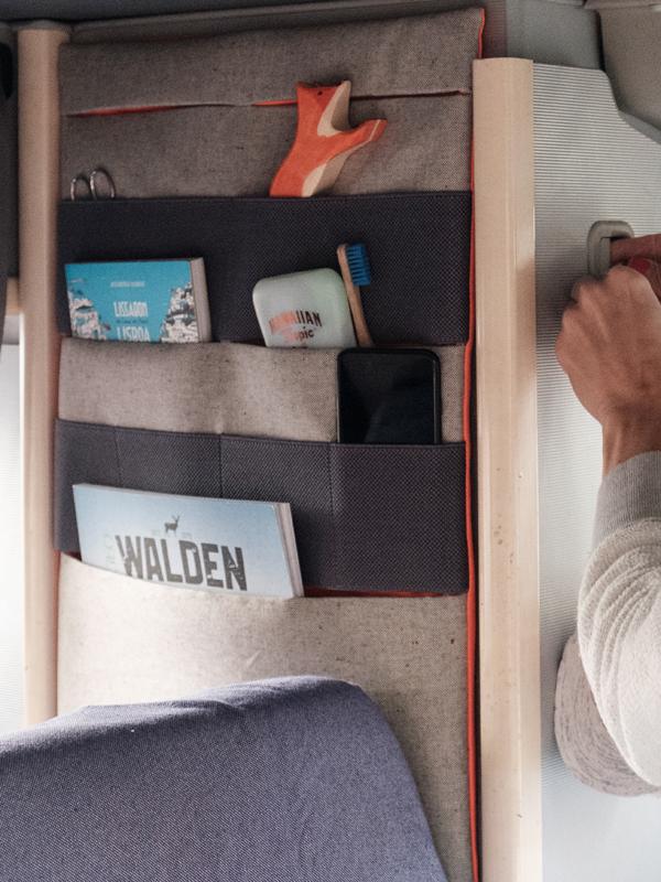 Wandtaschen im VW Bus anbringen ohne Bohren